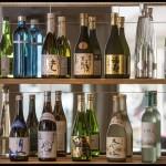 Selectie van exclusieve sake's